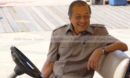 Dr Mahathir Mohamad, dubbed the 'PM slayer' by one author, is the single most potent force behind the campaign to oust Mr Razak