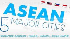Asean's Five Major Cities