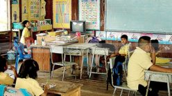 Overlooked for four years, Thailand's education system awaits election result