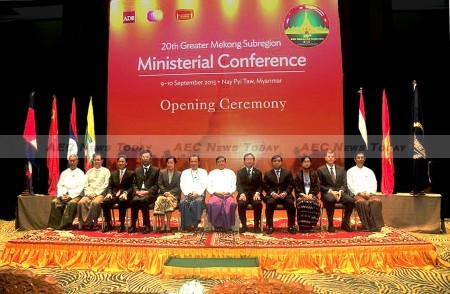 Participants in the 20th Greater Mekong Subregion (GMS) Ministerial Conference