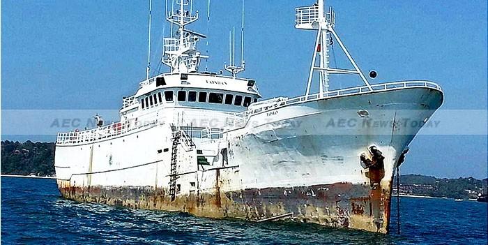 Thailand Launches Air & Sea Hunt For Rogue Fishing Ship Taishan (Kunlun)