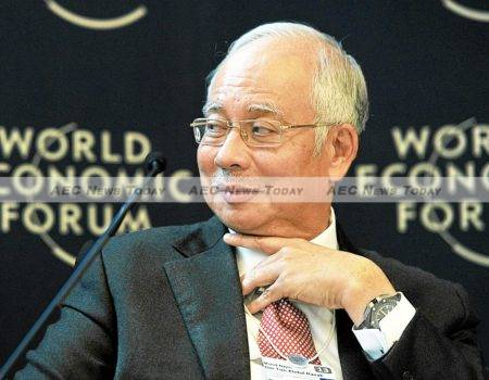 Mohammad Najib bin Tun Haji Abdul Razak at the 'Resilience in Diversity' Meeting of the World Economic Forum in Davos, Switzerland in 2013: Questions about accountability and governance in Malaysia under BN