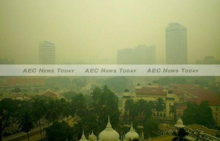 Kuala Lumpur, Malaysia engulfed in transboundary smoke-haze
