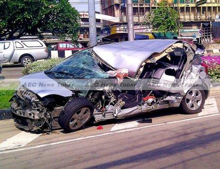 On total number of road deaths in 2013 Thailand ranked 11th. Drunk driving killed more than 6,300 people