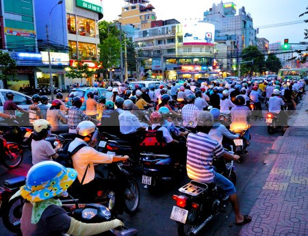 With peak-hour commutes becoming increasingly unbearable and rising disposable incomes more cars are inevitable for Vietnam's roads