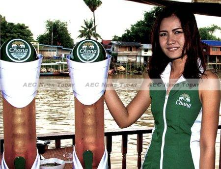 In Thailand Thai Bev's Chang beer commands 39 per cent of the beer market, a distant second to Boon Rawd Brewery, producers of Singha and Leo beers