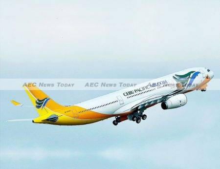 Flying high: Low-cost carrier Cebu Pacific commands about 60 per cent of the domestic Philippines aviation sector