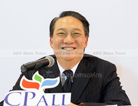 CP-ALL chief executive Korsak Chairasmisak was promoted to vice-chairman despite being found guilty of insider trading after buying 118,000 shares in Siam Makro