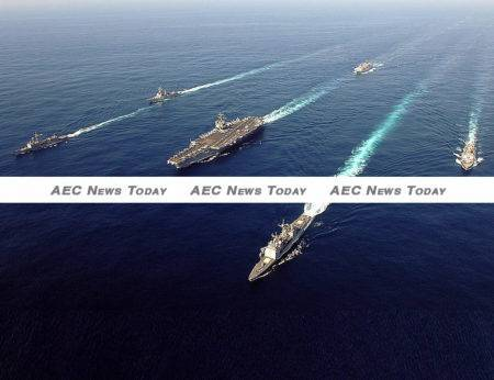 Recently announced plans by the US will see a naval force of 140,000 sailors, 200 ships and more than 1,200 aircraft established.