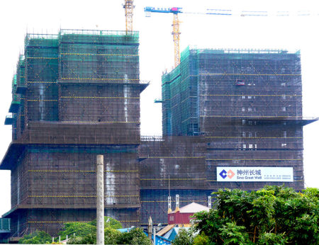 Once completed The Bridge will comprise 45-storeys and be the tallest high-rise condominium development in Phnom Penh