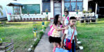Students going home from a school in Leyte Province. The Department of Education will receive a 31% boost in funding from the the 2017 Philippine budget