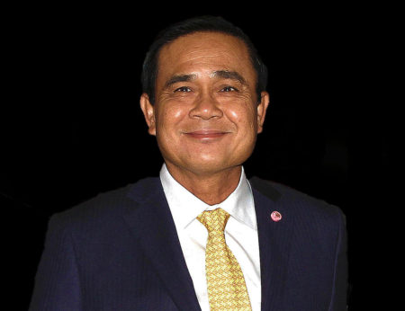 Thailand Prime Minister Prayut Chan-o-cha