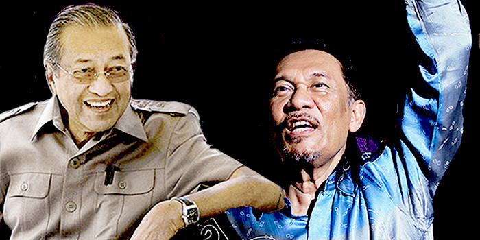 Mahathir And Anwar: Unlikely Bedfellows Reunite For BN/ Najib Battle