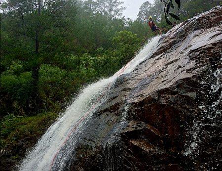 Canyoning in Da Lat