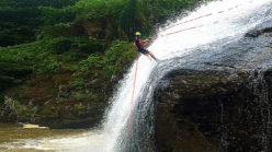 Canyoning Da Lat's Datanla Falls (video)