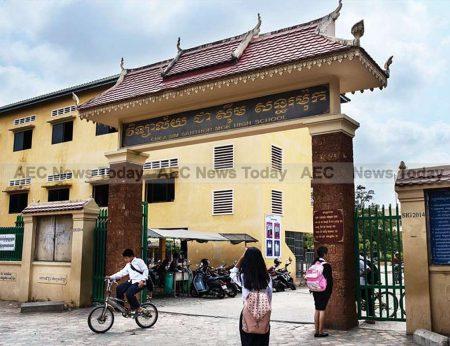 Santhormok High School, Phnom Penh.