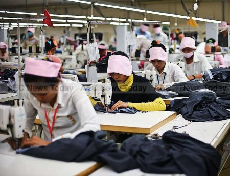 Cambodia garment industry is particularly sensitive to supply chain disruption with its workforce also being heavily indebted