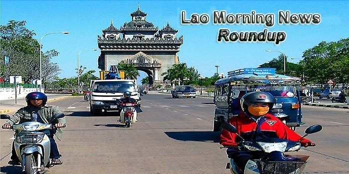 Lao Morning News Roundup For February 23