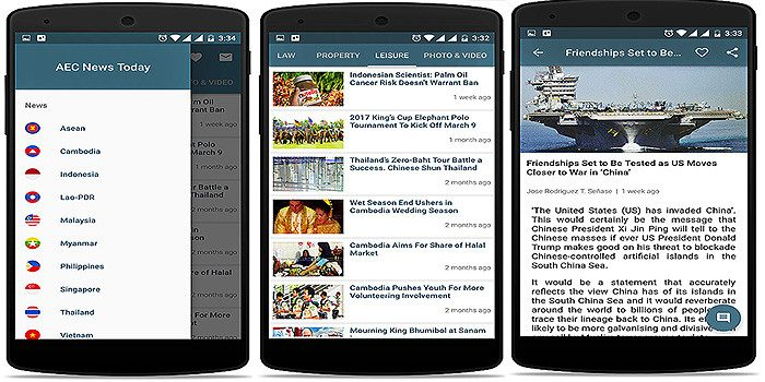 Stay up to date with the AEC News Today mobile app