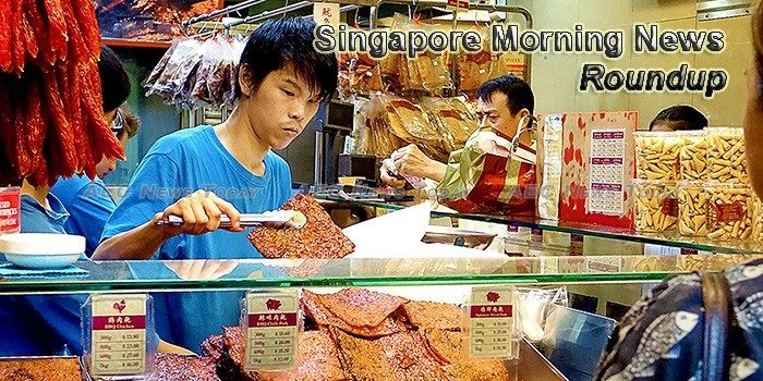 Singapore Morning News For March 24