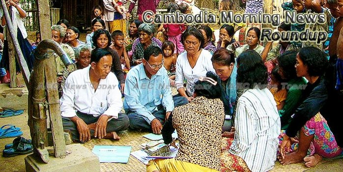 Cambodia Morning News For April 25