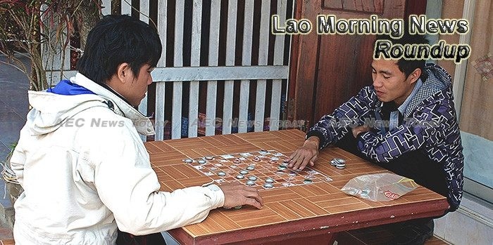 Lao Morning News For May 26
