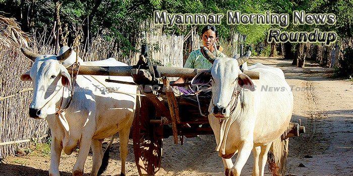 Myanmar Morning News For May 4