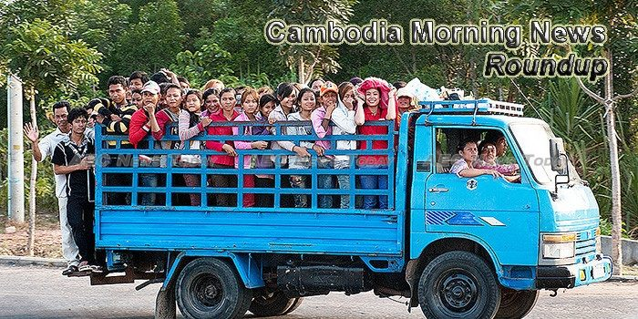 Cambodia Morning News For June 9