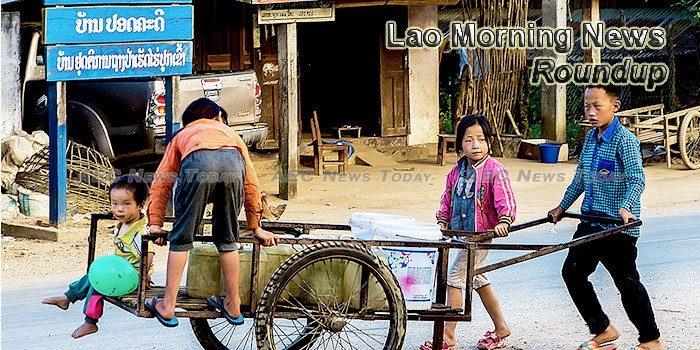 Lao Morning News For June 30