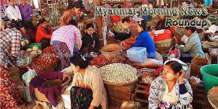 Myanmar Morning News For June 15