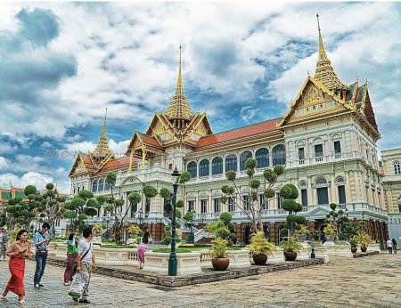 Water could be flowing through the grounds of Bangkok's Grand Palace in less than a decade