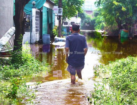 19 of the 25 cities globally most at risk from a one-meter sea-level rise are in Asean