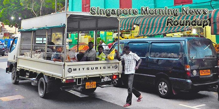 Singapore Morning News For July 18