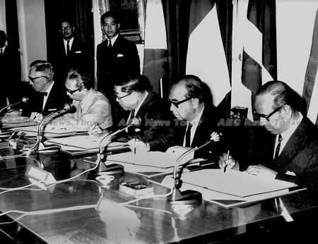 The signing of the Asean Declaration in Bangkok on August 8, 1967. It is important to think about what a world without Asean might look like