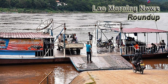 Lao Morning News For August 23