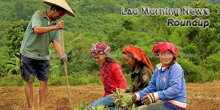 Lao Morning News For August 30