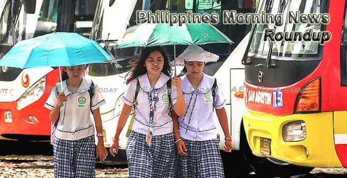 Philippines Morning News For August 10