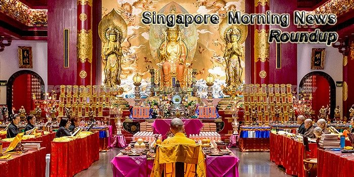Singapore Morning News For August 7