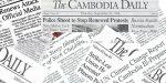 The Cambodia Daily closed on September 4, 2017 after being presented with a $6.3 mln tax penalty