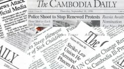 Why The Cambodia Daily must pay its tax bill or be shutdown
