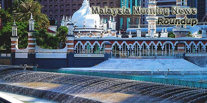 Malaysia Morning News For October 6