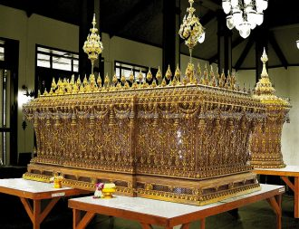 Preparations for King Bhumibol the Great cremation