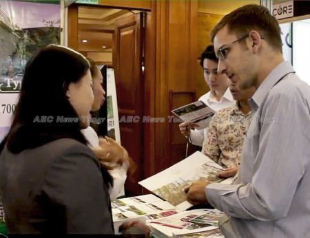 Developers are sharpening their pencils in an attempt to woo purchasers at Cambodia Real Estate Show 2