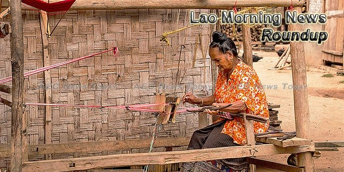 Lao Morning News For October 19