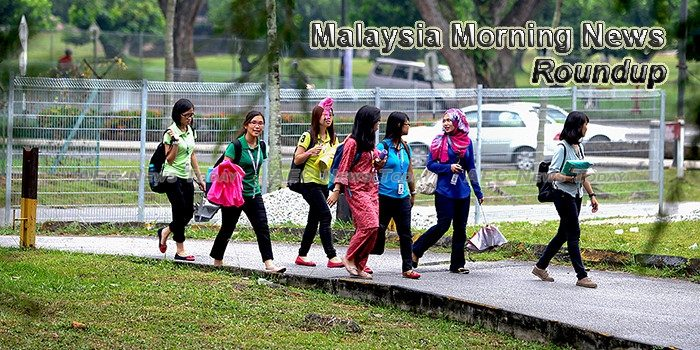 Malaysia Morning News For October 27