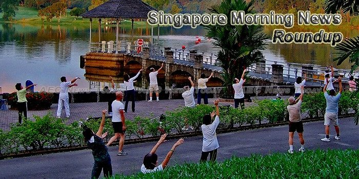 Singapore Morning News For October 13