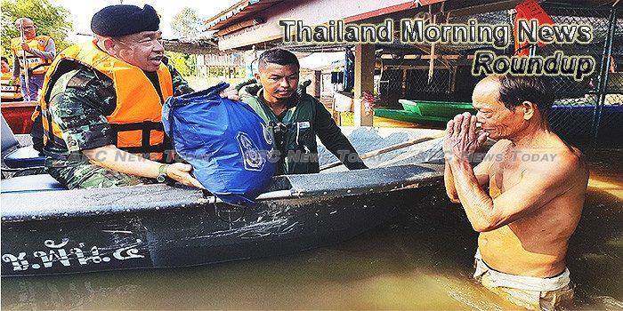 Thailand Morning News For November 3