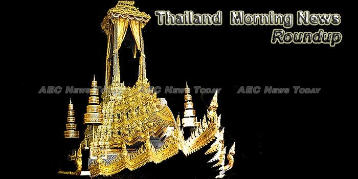Thailand Morning News For October 13
