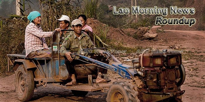 Lao Morning News For November 13
