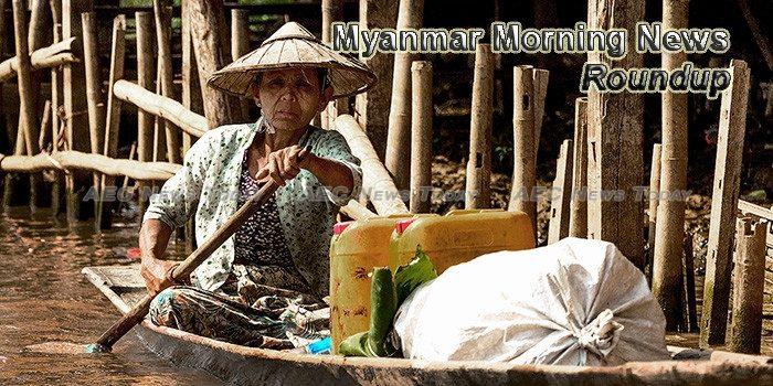 Myanmar Morning News For November 15
